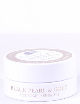 Гидрогелевые патчи Petitfee Black Pearl & Gold hydrogel eye patch